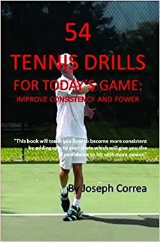 Book 54 Tennis Drills for Today's Game