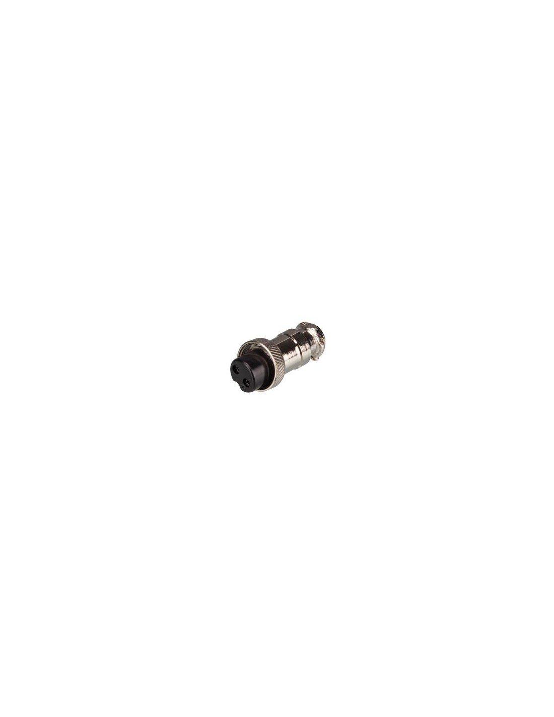 Perel 141484 Schraub-Kupplung, 2 Polig VS Electronic Vertriebs GmbH