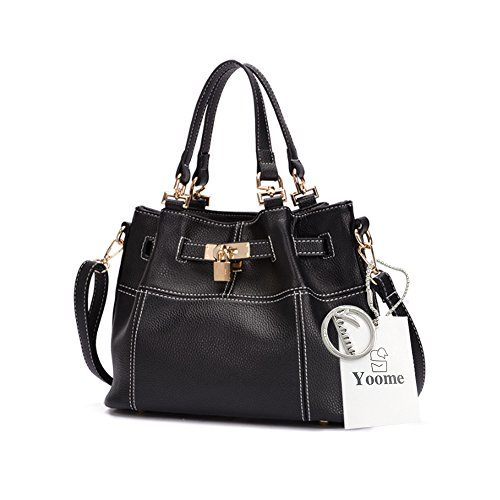 Borsa casuale del sacchetto del sacchetto di trucco della borsa delle signore della borsa di trucco della borsa di trucco della parte superiore del modello di Lichee di grande capienza di Yoome