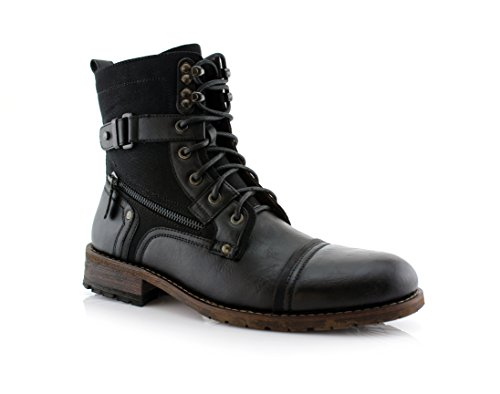 Motorcycle Buckle Boots - 5