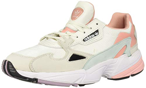 adidas Originals Women's Falcon, Tint/raw White/Trace Pink, 9 M US