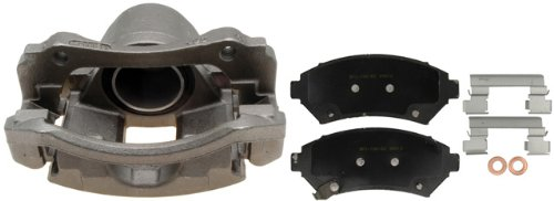 Remanufactured Loaded ACDelco 18R1215 Professional Front Driver Side Disc Brake Caliper Assembly with Pads