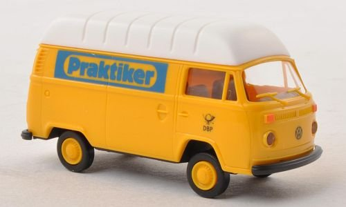 vw-t2-praktiker-german-federal-postal-services-model-car-ready-made-brekina-187