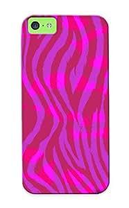 Blackducks New Arrival Iphone 5c Case Pink Kull Zebra Pink Kull Zebra Case Cover/ Perfect Design
