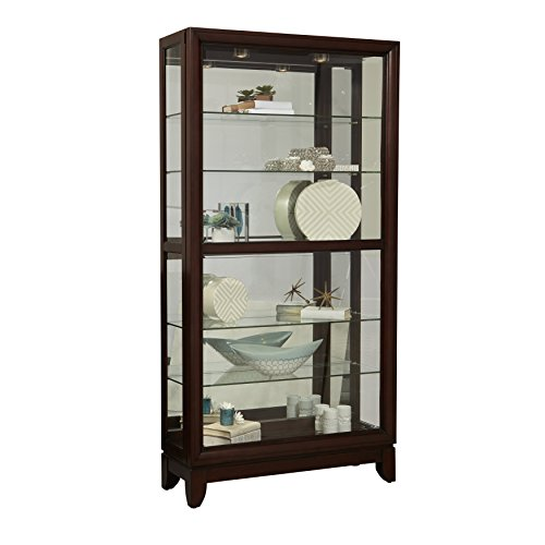 Pulaski Large Two Way Sliding Door Curio Cabinet, 42