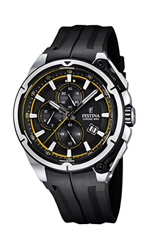 Festina F16882-7 Mens 2015 Chrono Bike Tour De France Black Watch