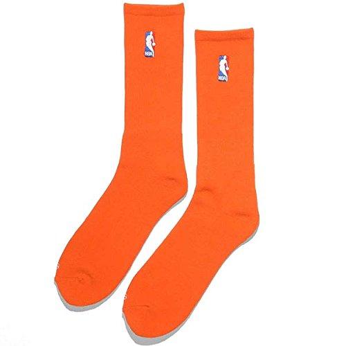 For Bare Feet NBA NBA Logoman Crew Sock - Orange by For Bare Feet