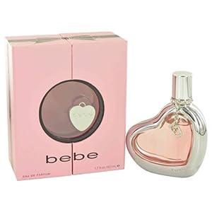 Bebe Eau De Parfum Spray for Women, 1.7 Ounce