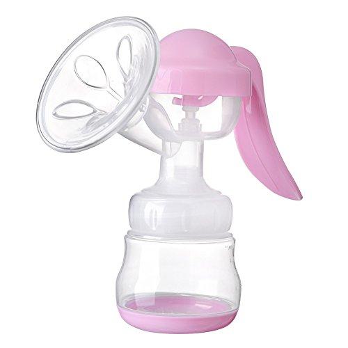 MiyaSudy Snug Portable Manual 150ml Breast Pump Breast Feeding Baby Nipple Suction Milk Bottle Sucking by MiyaSudy