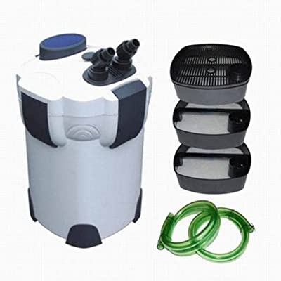 Polar Aurora 3-stage External Aquarium Filter with Builtin Pump Kit Canister