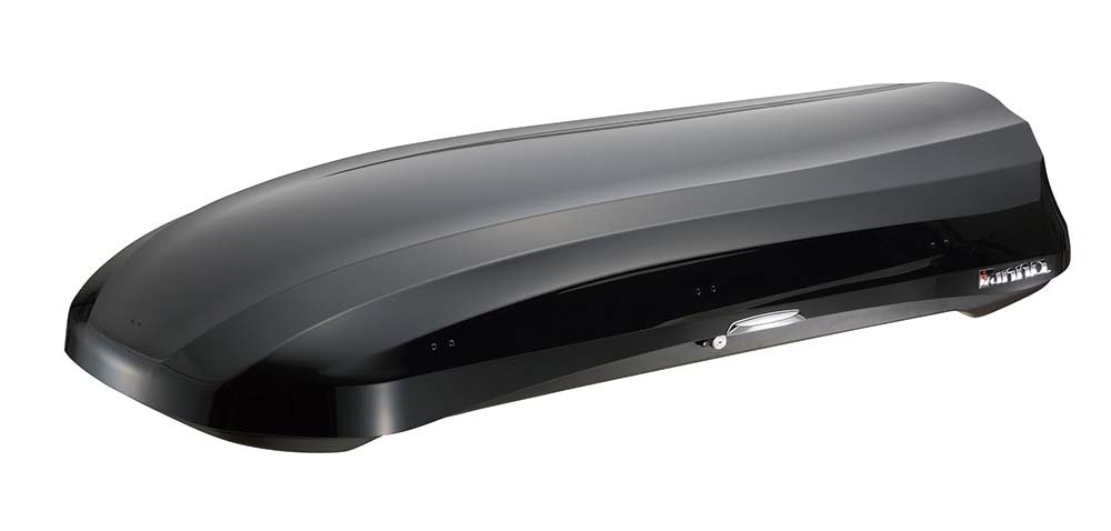 INNO BRM624BK Wedge Cargo Box - 13 Cubic FT (Gloss Black)