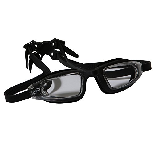 Aryca Supreme Series Goggles with Tinted Lenses, Black
