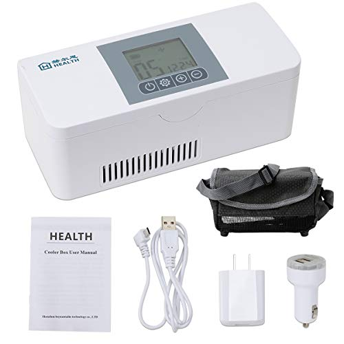 Portable Insulin Cooler Case, Drug Insulin Refrigerated Box Keeping Mini Insulin Cooler, Keeps Diabetes Medication Cool and Insulated