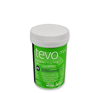 Cafetto Tevo Tablets Mini 1.5g/0.05oz - 60 tablets per jar by Cafetto