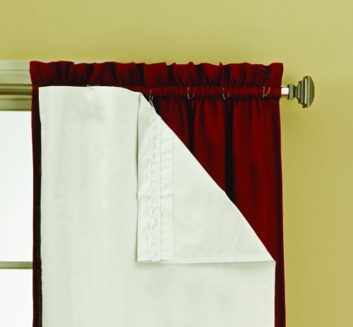 Curtains Ideas 80 inch door panel curtains : Amazon.com: Eclipse Thermaliner Blackout Panel Pair, White.: Home ...