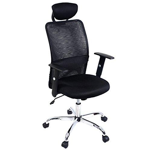 Modern Ergonomic Mesh High Back Executive 360 Degree Swivel Computer Desk Task Office Chair Black - Brisbane Prices Duty Free