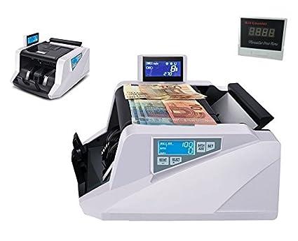 Contadores billetes/Contabanconote con detector de billetes falsos/Money detector Extralux profesional