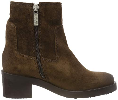 coffee Essential Bottes Tommy Bean Jeans Boot Biker 212 Suede Femme Marron Motardes 66Xqzw