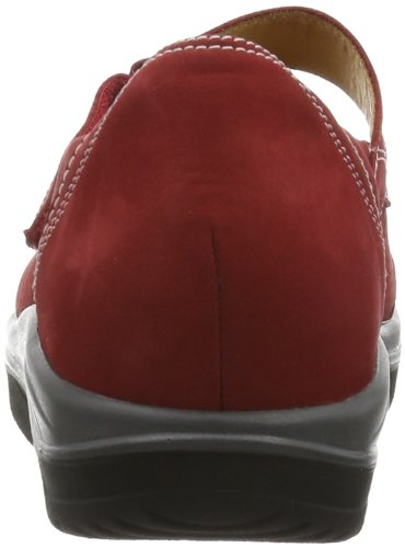 Ganter AKTIV Gisa, Weite G - Zapatos Mujer Rojo (Rot (rosso 4100))