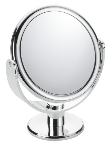 Floxite Fl-83fmc 8x Magnifying 8x / 3x Vanity Mirror, Chrome, Frosted White by Floxite