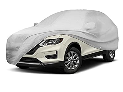 CarsCover Custom Fit Nissan Rogue SUV Car Cover Heavy Duty All Weatherproof Ultrashield Covers