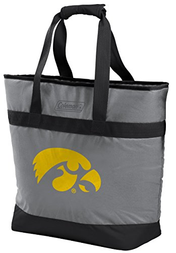 NCAA Iowa Hawkeyes Unisex 07883075111NCAA 30 Can Tote Cooler (All Team Options), Yellow, X-Large ()