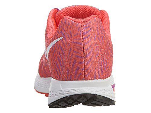 Nike Wmns Air Zoom Elite 8 Print, Zapatillas de Running Para Mujer Naranja (Bright Crimson / White-Hypr Vlt)