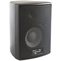 Dynavox AS-301 High Class Altoparlanti da 60 Watt, 2 unità, colore: Nero
