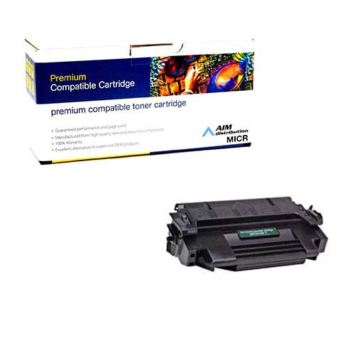 (AIM Compatible MICR Replacement for PrintMaster TN1400MICR MICR Toner Cartridge (6800 Page Yield) - Compatible to HP 92298A - Generic)