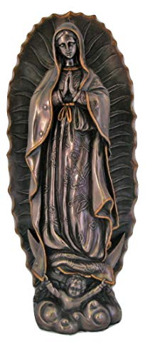 Veronese Collection Our Lady of Guadalupe 19.5 Inch Bronze Statue