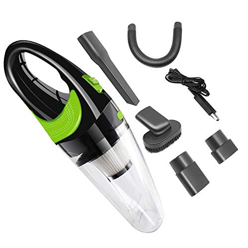 MAILE Handheld Car Vacuum Cleaner Cordless USB Charger Wet Dry Strong Cyclone Suction Lightweight