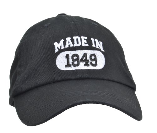 Made In 1949 65th Birthday Hat Cap