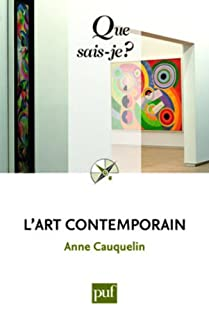 L'art contemporain, Cauquelin, Anne