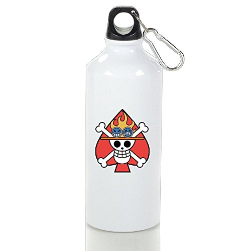 Pirates Anime Nico Robin's Flag Aluminum Classic Sports Water Bottle ()