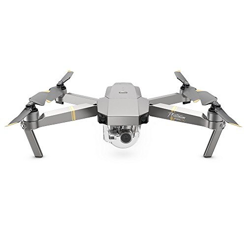 DJI Mavic PRO Drone Quadcopter, Platinum Version (CP.PT.00000071.01)