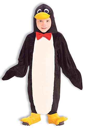 Forum Novelties Plush Cuddlee Penguin Costume, Toddler Size