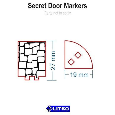 sc 1 st  Amazon.com & Amazon.com: RPG Secret Door Markers (5): Toys \u0026 Games