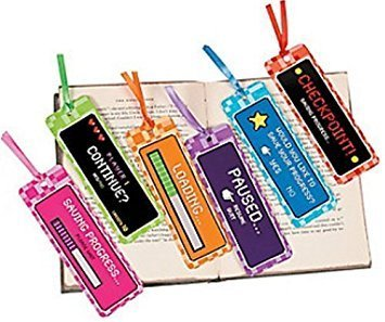 Fun Express 48 ~ Video Game Bookmarks ~ New