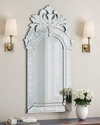 Wall Mounted Squared Mirror