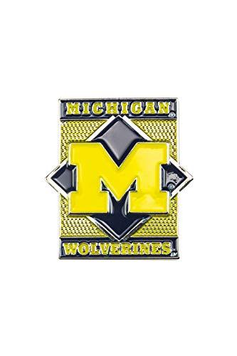 Pin Collectible Team Hat - aminco NCAA Michigan Wolverines Diamond Pin, Team Color, 4