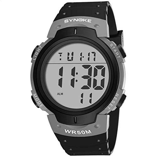 Electronic Outdoor Sports Multi Function Trend Screen Fashion Men's Watch risatband Smart Watch Luxury Women Watch