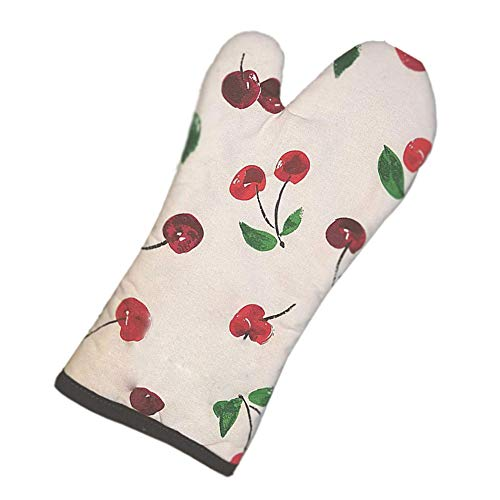 Kate Spade All In Good Taste Oven Mitt, CHERRIES, Pink Dogwood by Kate Spade New York (Image #1)'