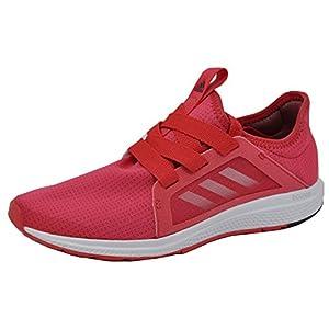 adidas Womens Edge Lux Running Shoe, Pink/White/Maroon, 9 B(M) US