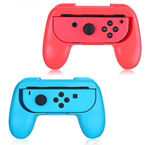 Good_Will Controller Protector (Controller Cover) for Nintendo Switch Joy-Con (set of 2)(Blue and Red)
