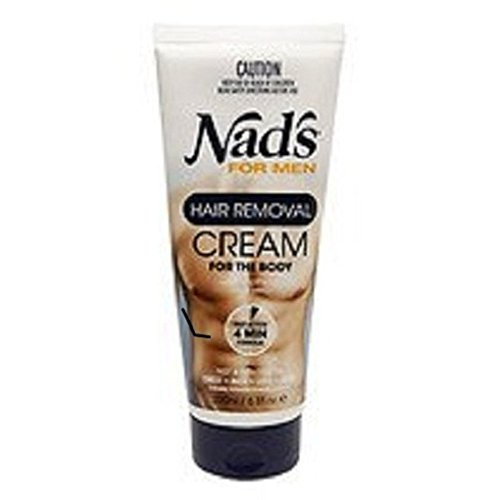 Nad's For Men Hair Removal Cream, 6.8 oz Pack of 2 by Nad's