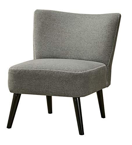 Design Retro Fauteuil.Fauteuil Style Crapaud Gris Anthracite Ultra Confortable Au