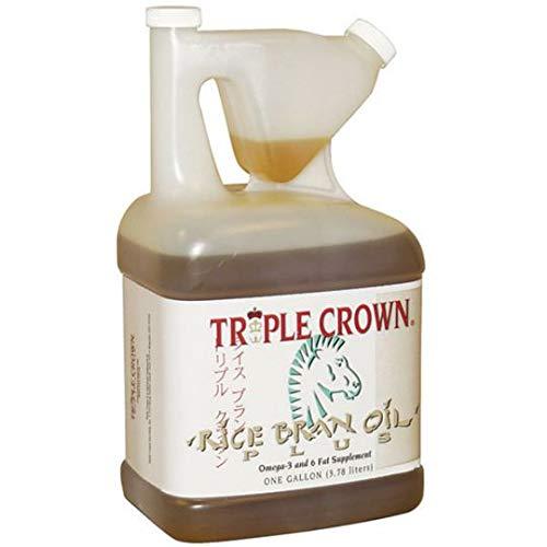 Triple Crown Rice Bran Oil 1 Gallon by Triple Crown