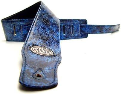 Gaucho GST-205, Correa Bandolera de guitarra, Azul 3362-X: Amazon ...