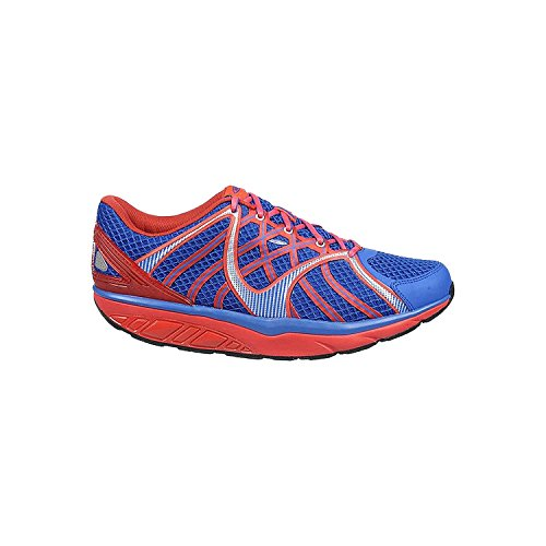 MBT Men's Jengo 5 Sport Neutral Blue Balance/Red Synthetic