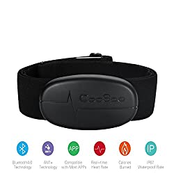 Onlydriod Coospo H6 Dual Mode Bluetooth & Ant+ Heart Rate Monitorbluetooth V4.0 Wireless Sport Heart Rate Sensor Chest Belt Monitor For Real-time Reciever